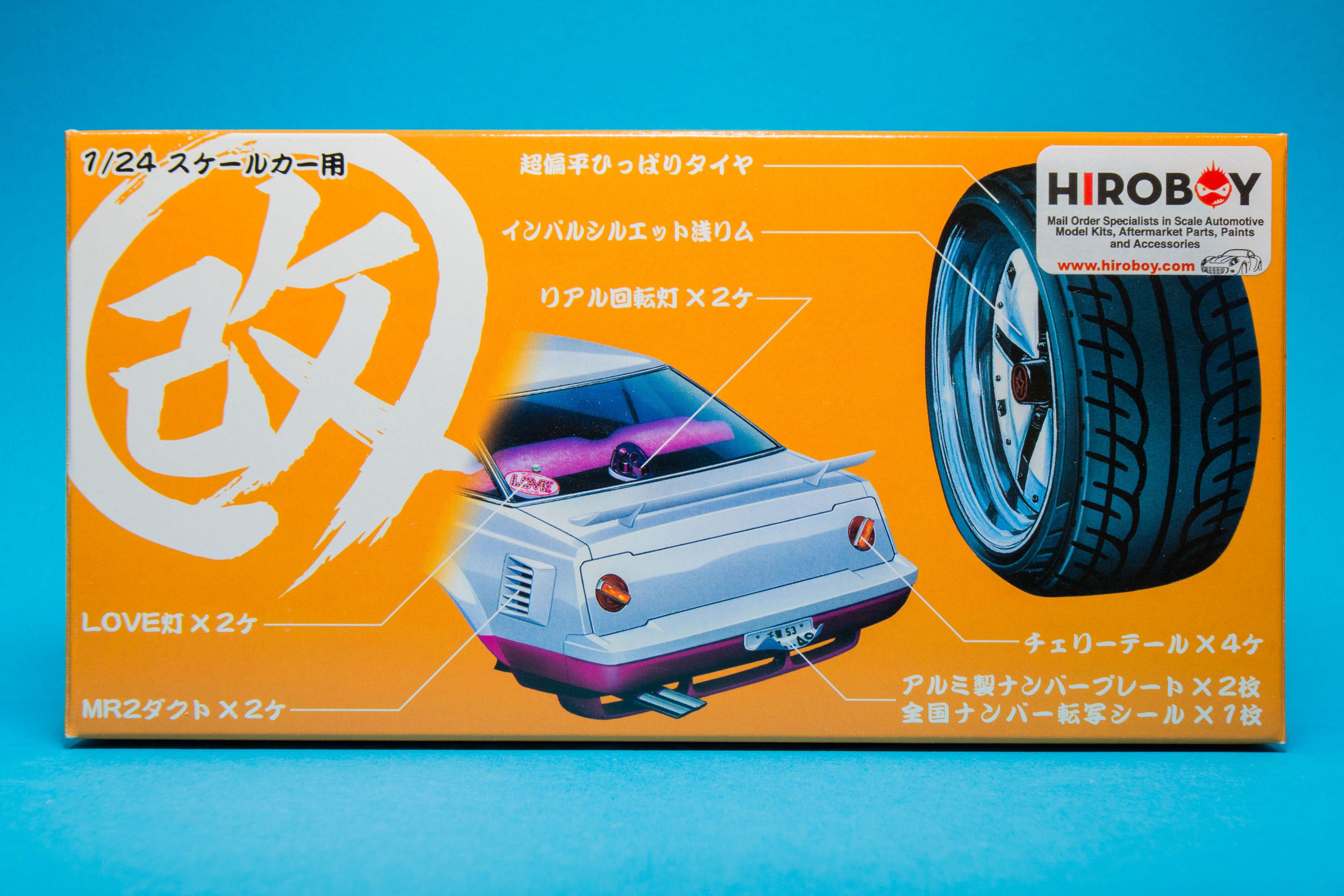 Aoshima 1/24 Impul Silhouette Wheels & Kai Parts – ELP Modelling