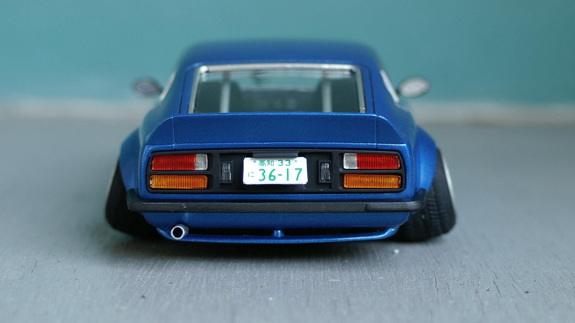 Lady In Blue Nissan S30 Fairlady Z – ELP Modelling