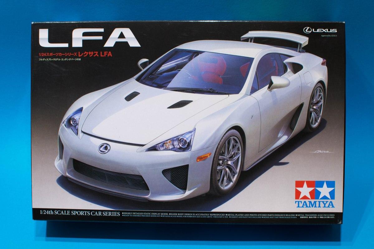 Tamiya 1 24 Lexus Lfa Model Kit Review Elp Modelling