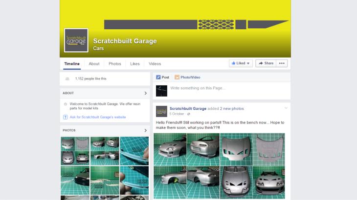 ScratchBuilt Garage